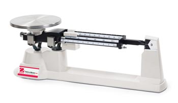 ohaus triple beam balance 2610g manual